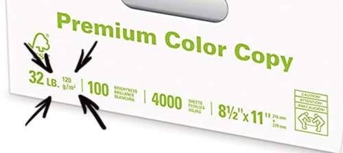 printer paper label