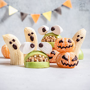 healthy snack options for Halloween