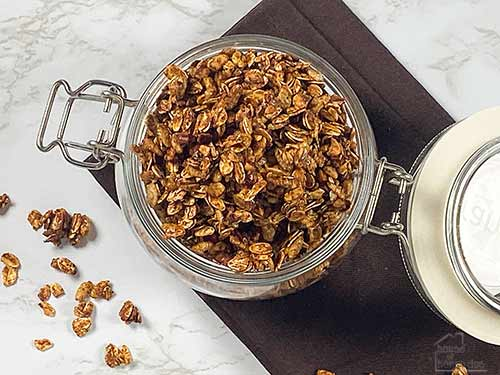 homemade honey nut granola